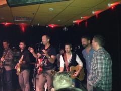 Bentall with Quidi Vidi Dirt Band, Cory, and Andrew LeDrew at Martini