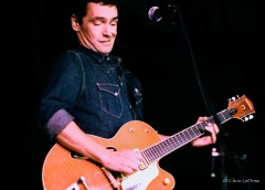 "Cory Tetford, sporting one of his famous ""guitar faces."""